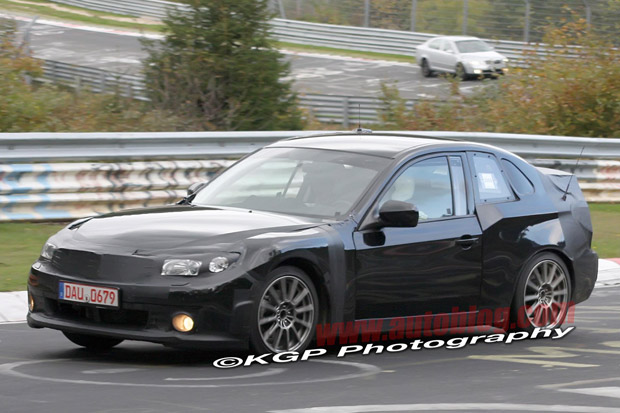 Spy Shots: Toyota-Subaru coupe prototype caught ringin' der Nürburg