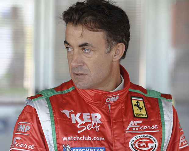 Jean Alesi returns to racing Ferraris