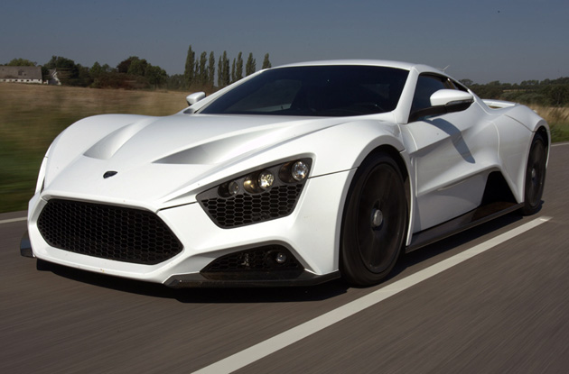 ,104-HP Zenvo ST1 seen in the metal, more details released