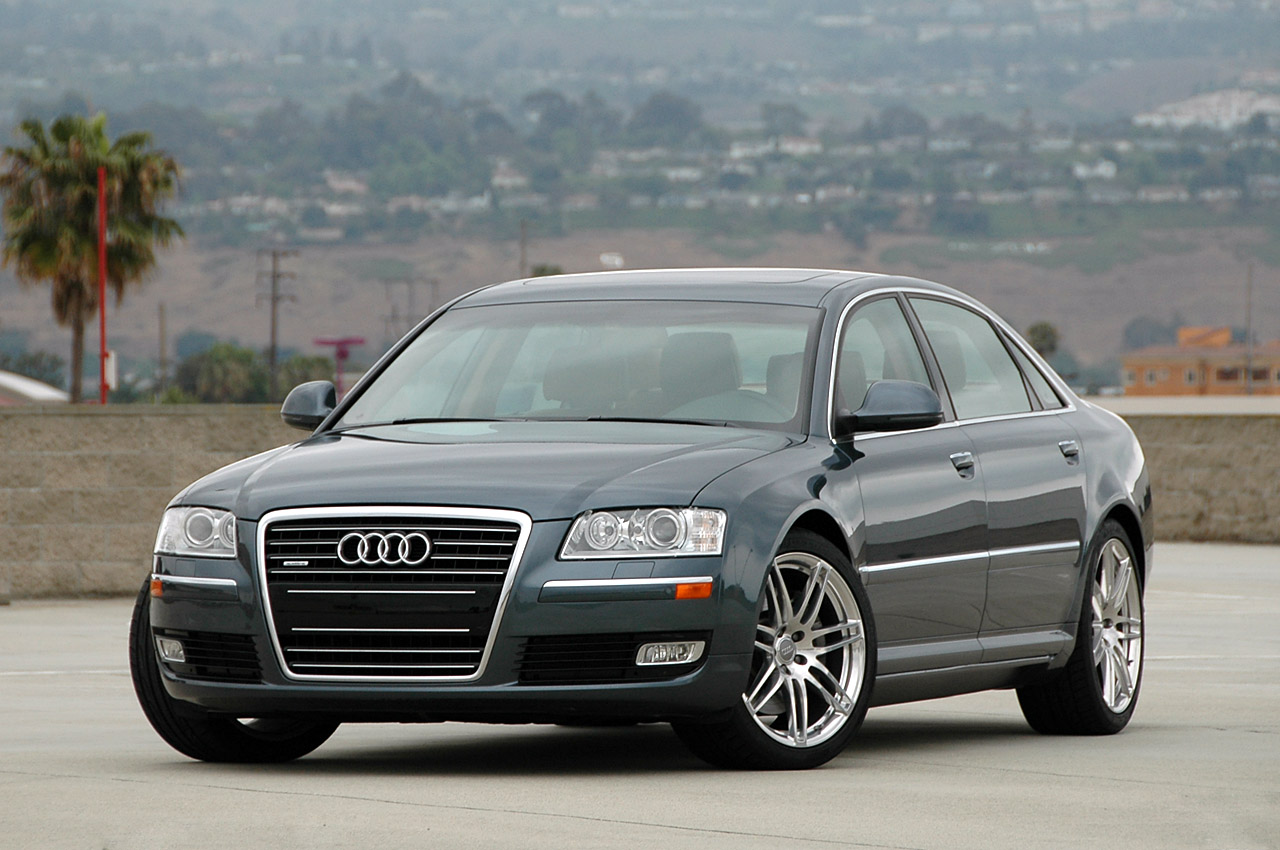 review 2009 audi a8 l photo gallery autoblog. Black Bedroom Furniture Sets. Home Design Ideas