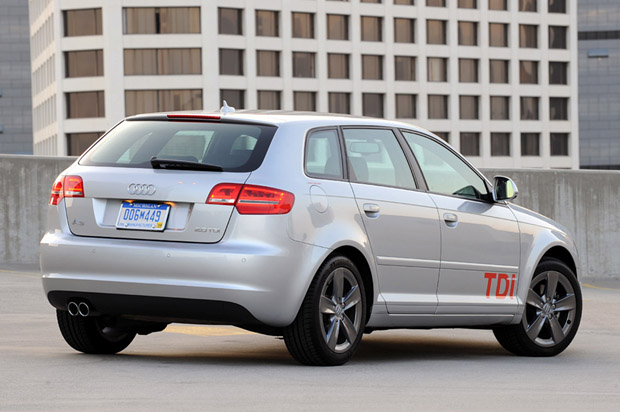 Review Audi A TDI Diesel With A Healthy Dash Of Sport Autoblog - Audi a3 wagon