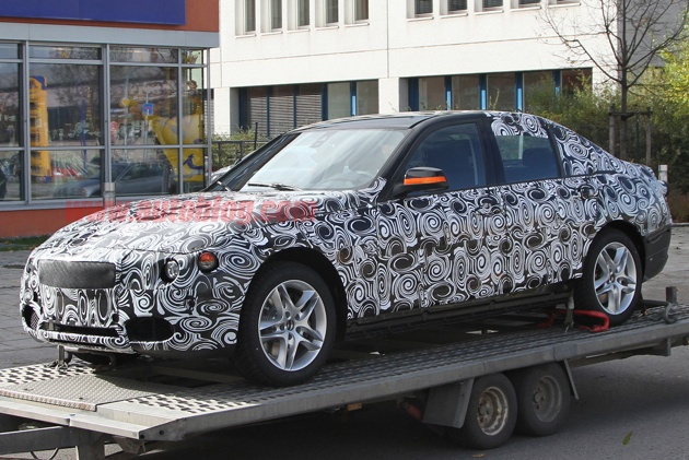 Spy Shots: Next generation BMW 3 Series pops up swathed in swirlies