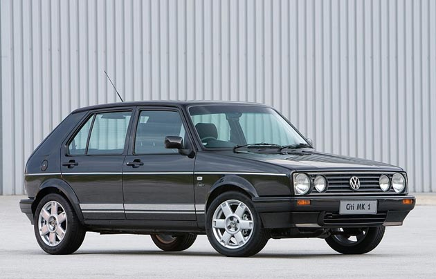 Vw Golf Mk1 Black. The original Volkswagen Golf