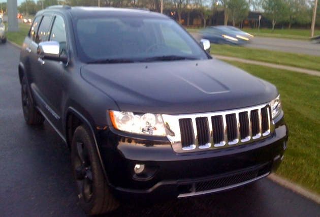 Spy Shots: 2011 Jeep Grand Cherokee out testing in Detroit