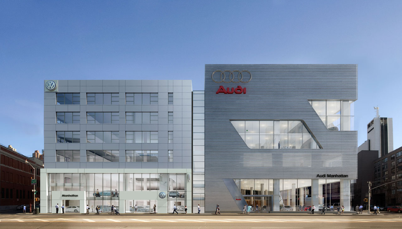 New Vw Audi Dealer Complex In Nyc Photo Gallery Autoblog