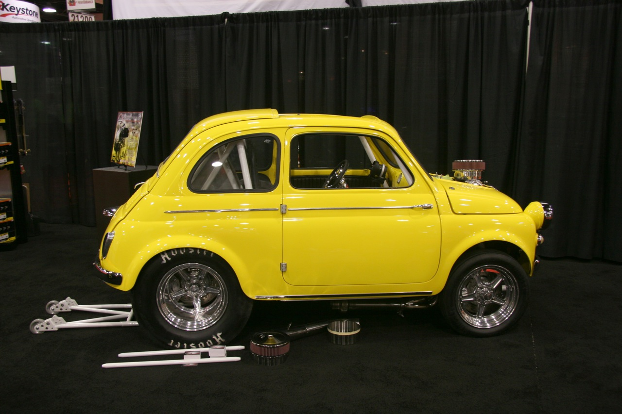 sema 2009 1959 fiat 500 by legacy innovations photo gallery autoblog. Black Bedroom Furniture Sets. Home Design Ideas