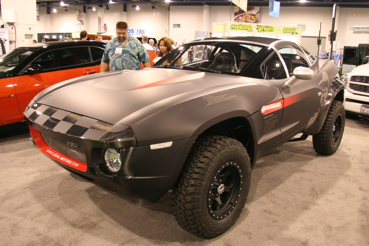 Local Motors Premiers The Rally Fighter Off Road Desert Racer Sema