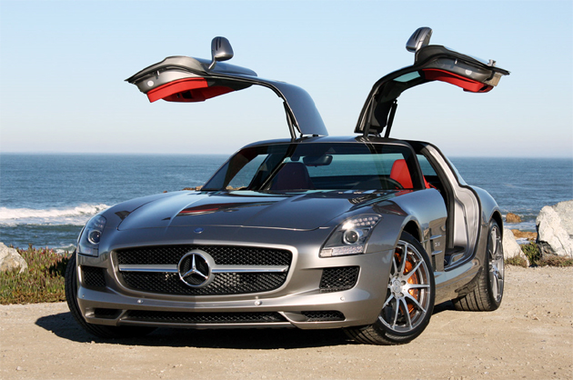 Mercedes benz sls amg priced for europe now taking orders for Mercedes benz sls price
