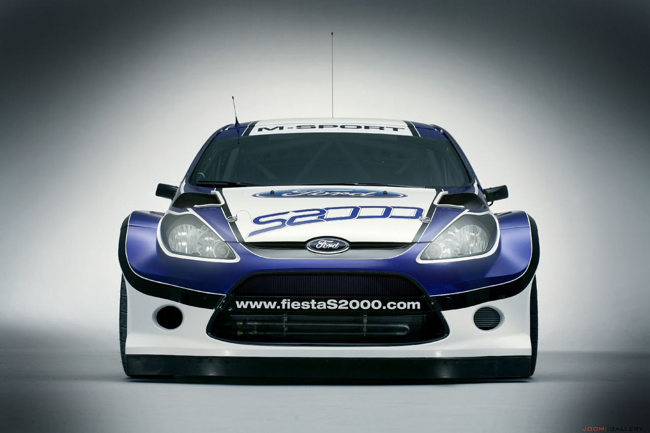 Ford and M-Sport Fiesta S2000 rally car