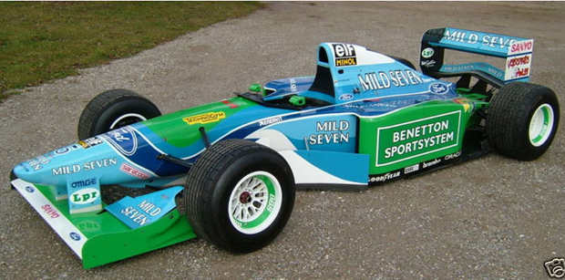 eBay Find of the Day: Michael Schumacher's controversial crowning 1994 Benetton