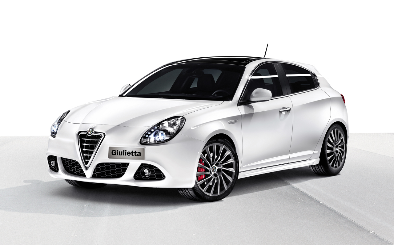 Finally, the Alfa Romeo