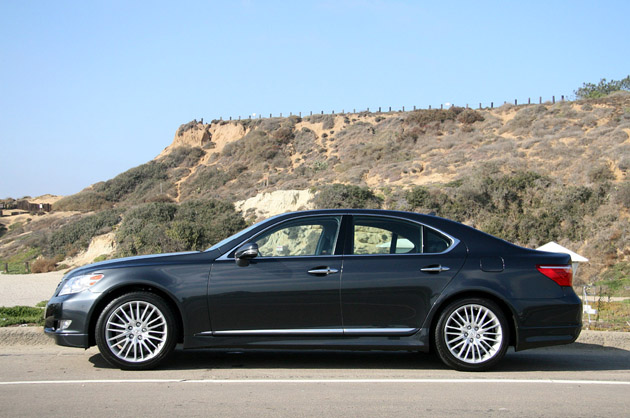 First Drive: 2010 Lexus LS460 Sport Package is F-ing with perfection ...