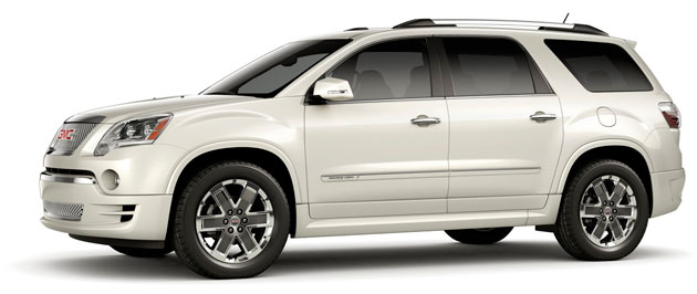 2011 GMC Acadia Denali - Click above for high-res image gallery