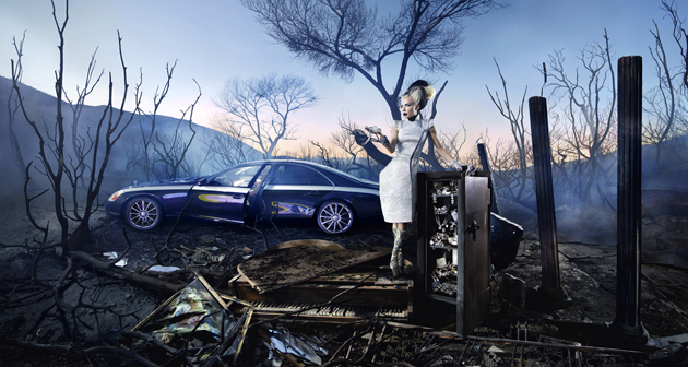 David La Chapelle Maybach Photo