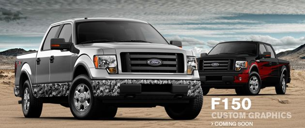 F-150 custom graphics