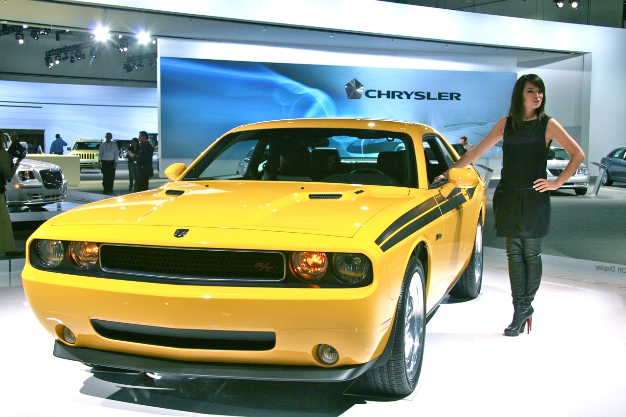 of yellow dodge challenger