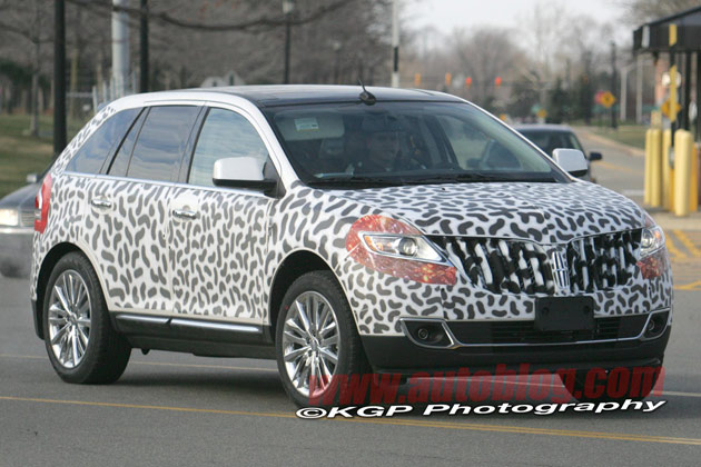lincoln mkx and ford edge spy shots click above or below for high res