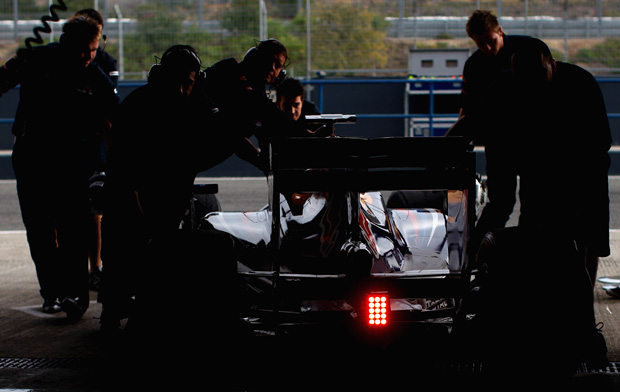 Youngsters invade F1 test at Jerez