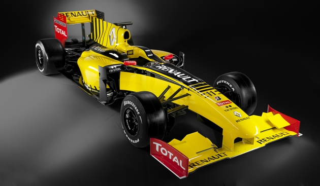 Renault R30 F1 car