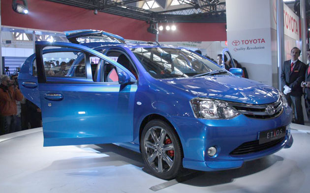 Toyota Etios Concept - Click above for high-res image gallery
