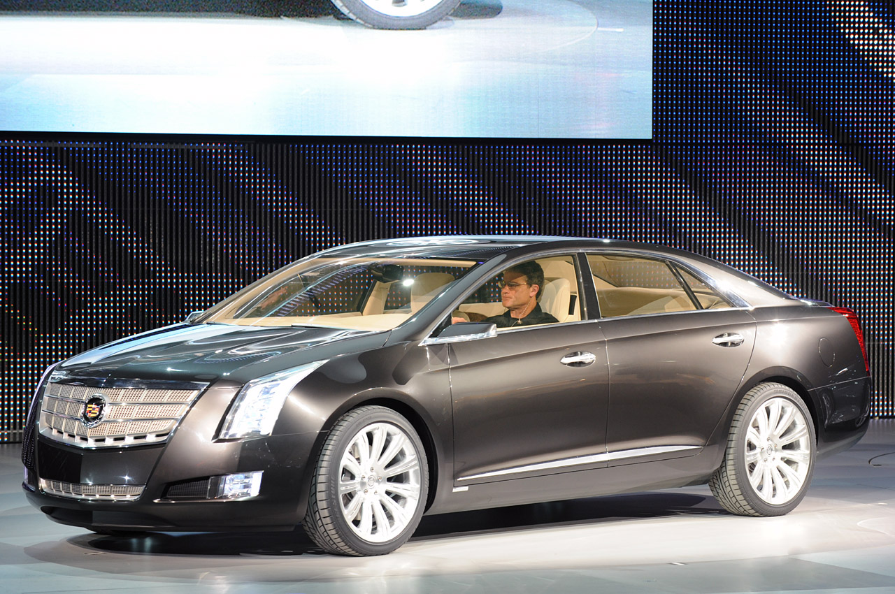 Pre Owned Cadillac Cts V Detroit 2010: Cadillac XTS Platinum Concept Photo Gallery - Autoblog