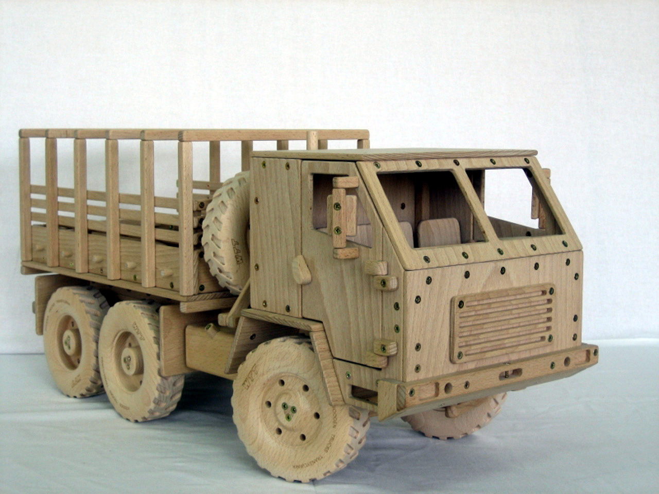 free wooden toy truck plans can help you to easily build your wooden ...