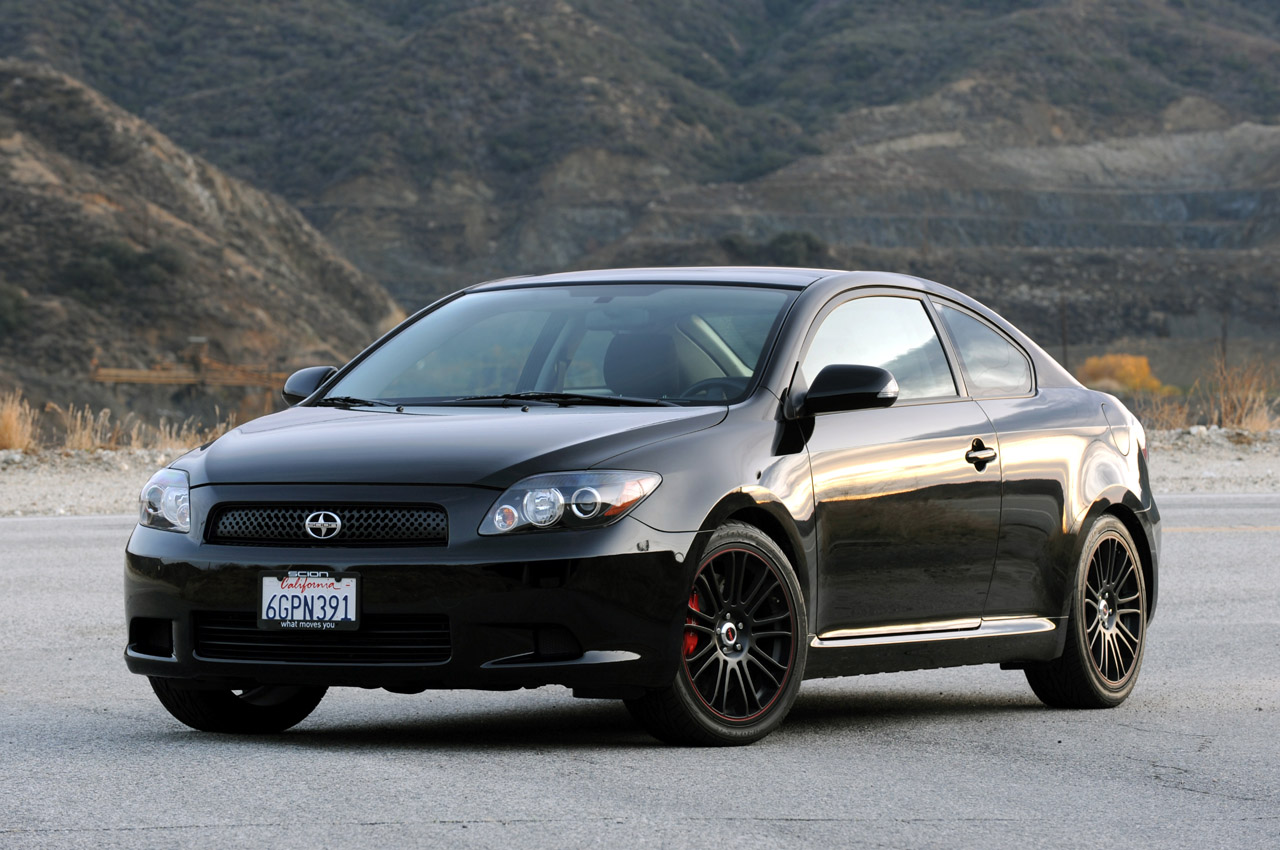review 2009 scion tc trd release series 5 0 photo gallery. Black Bedroom Furniture Sets. Home Design Ideas