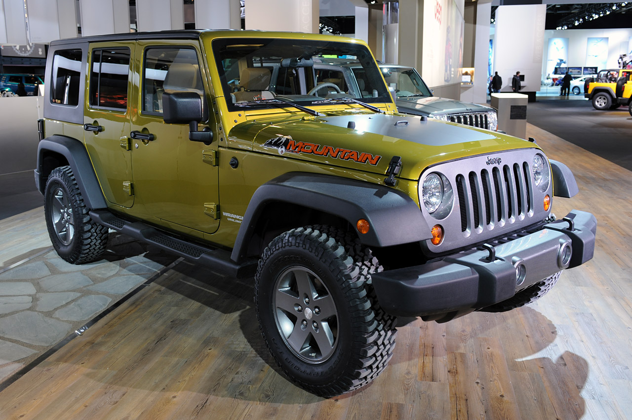 No diesel jeep wranger for north america for Jeep with diesel motor
