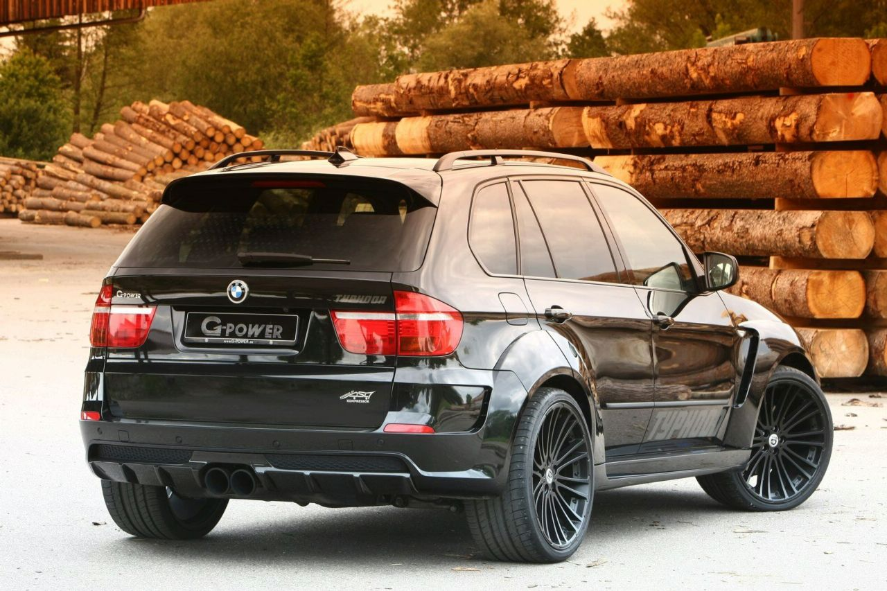 G Power Launches Bmw X5 Typhoon Quot Black Pearl Quot