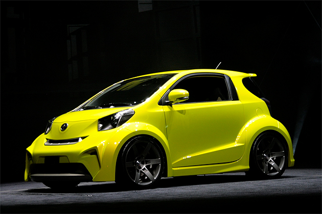 report toyota to offer hybrid scion iq in sedan five door. Black Bedroom Furniture Sets. Home Design Ideas