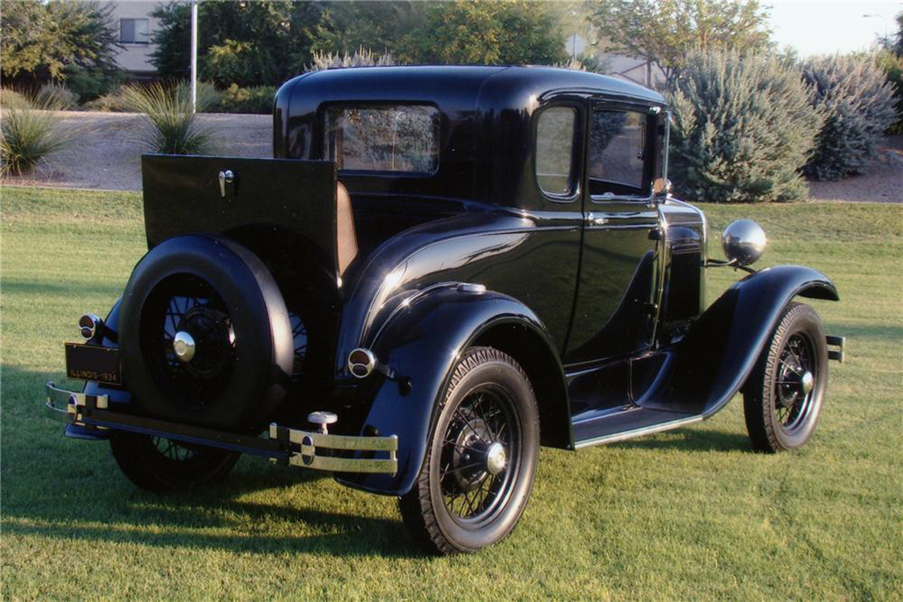 Dillinger S 1930 Ford Model A Getaway Car Up For Auction