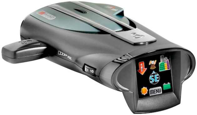 Cobra touchscreen radar detector
