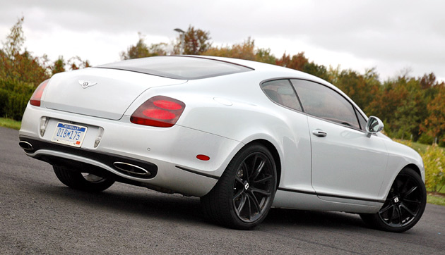 First Drive Bentley Continental Supersports Is A Whiter