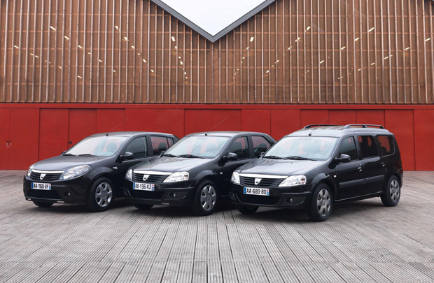 Dacia Black Line Models
