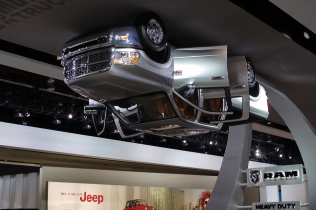 Dodge Ram is Dancing on the Ceiling