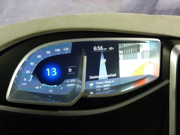Visteon shows us its next-gen tech, a dash that can tell if you're sleeping, and an in-car Tegra 2 [w/video]