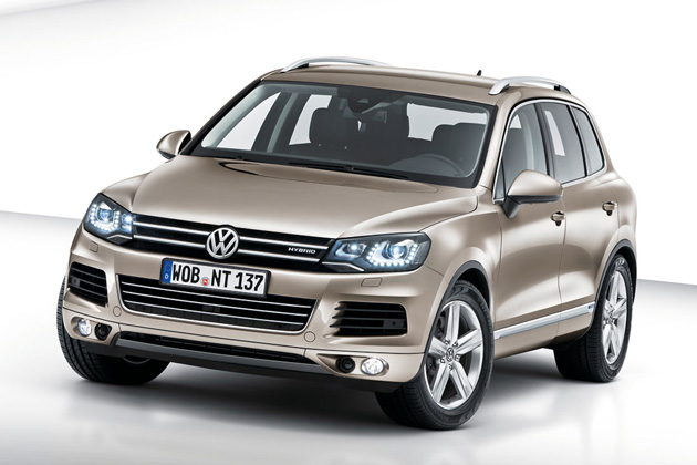 2011 Volkswagen Touareg - Click above for high-res image gallery
