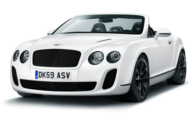 Bentley Continental Supersports. 2011 Bentley Continental
