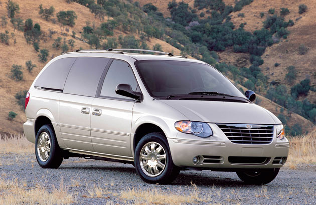 Chrysler town country minivan recalls