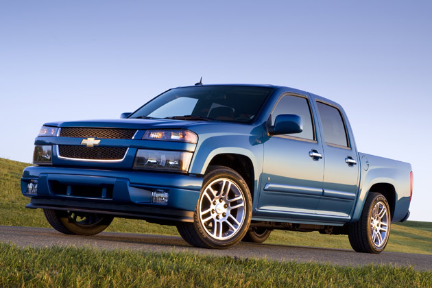 2010 Chevrolet Colorado – Click above for high-res image gallery