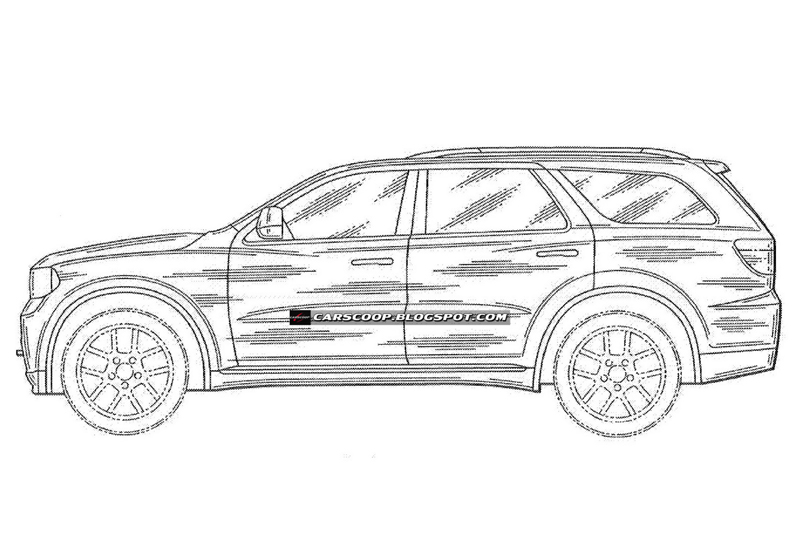 2012 dodge magnum  durango patent drawings photo gallery