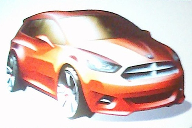 2013 Dodge Caliber replacement rendering