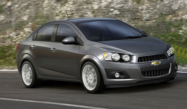 2012 Chevrolet Aveo Sedan Makes An Early Debut With Pics