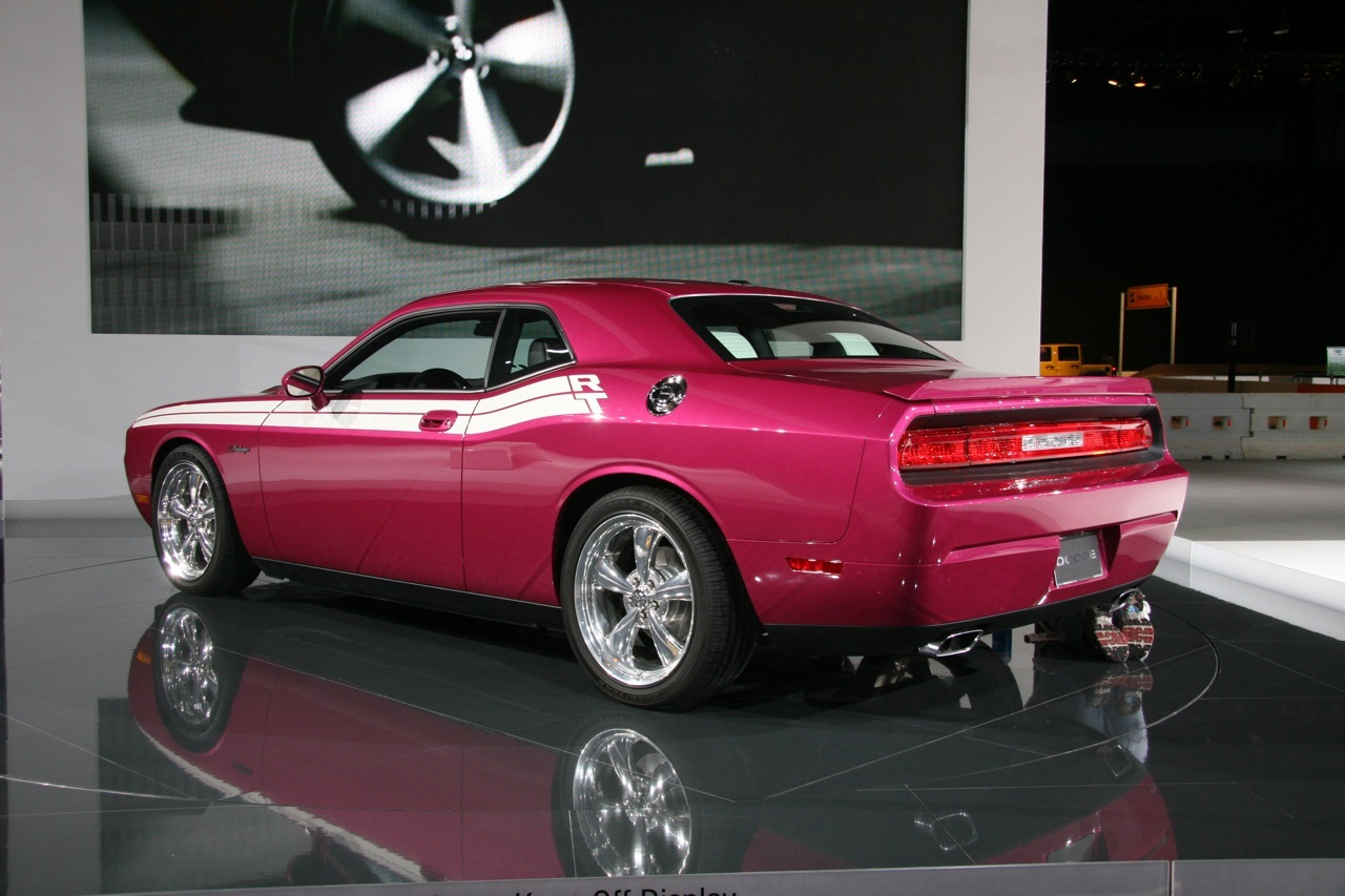 Furious Fuchsia Dodge Challenger R T At Chicago Auto Show