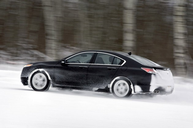 Cold Weather Testing In Minnesota Where Acura Beats On One Of The - 2006 acura tl wheel specs
