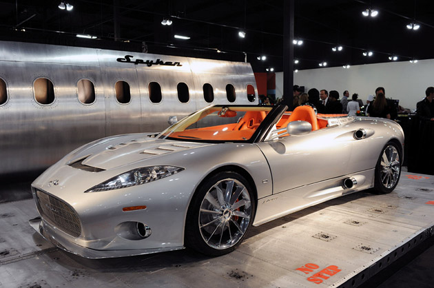 Galpin Spyker dealership