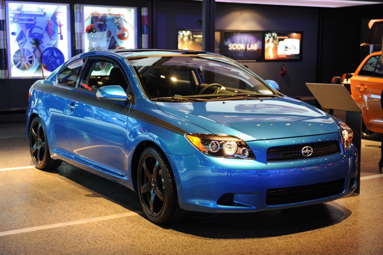 2010 scion tc release series 6 0 at chicago auto show. Black Bedroom Furniture Sets. Home Design Ideas