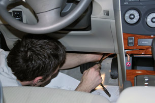 how to fix broken console cover in toyota camry