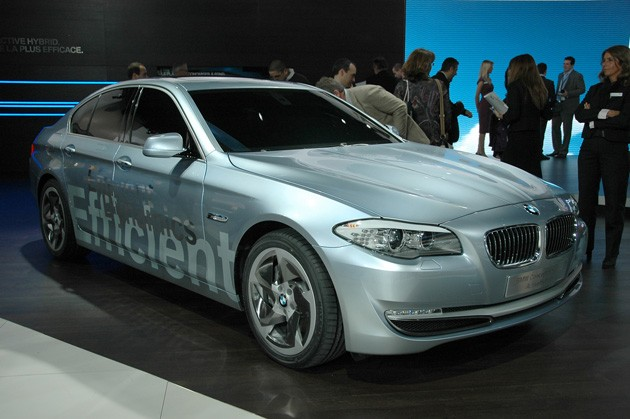 BMW 5 Series ActiveHybrid Concept