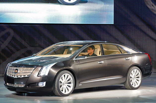 Cadillac XTS Platinum concept revealed